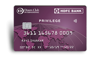 Gift Credit card to HDFC Bank transfer