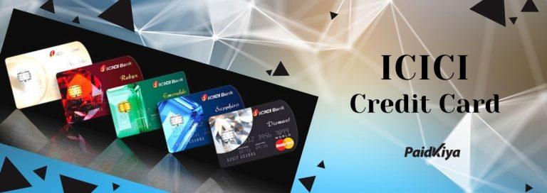 ICICI Bank CreditCards to Bank transfer instantly Using Paidkiya