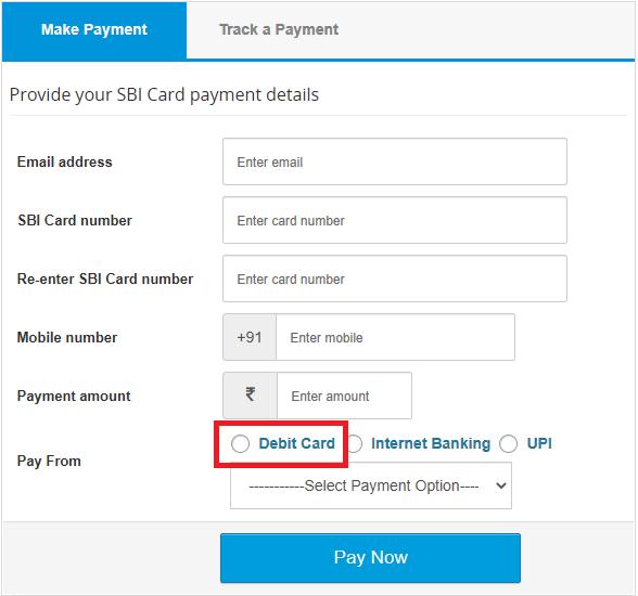 paynet debitcard using paidkiya