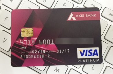 Axis Bank CreditCards to Bank transfer instantly Using Paidkiya