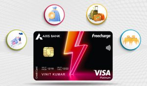 Pay Axis credit card bills using another credit card via Paidkiya
