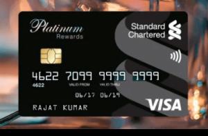 SC credit card bill payment using another credit card Via Paidkiya